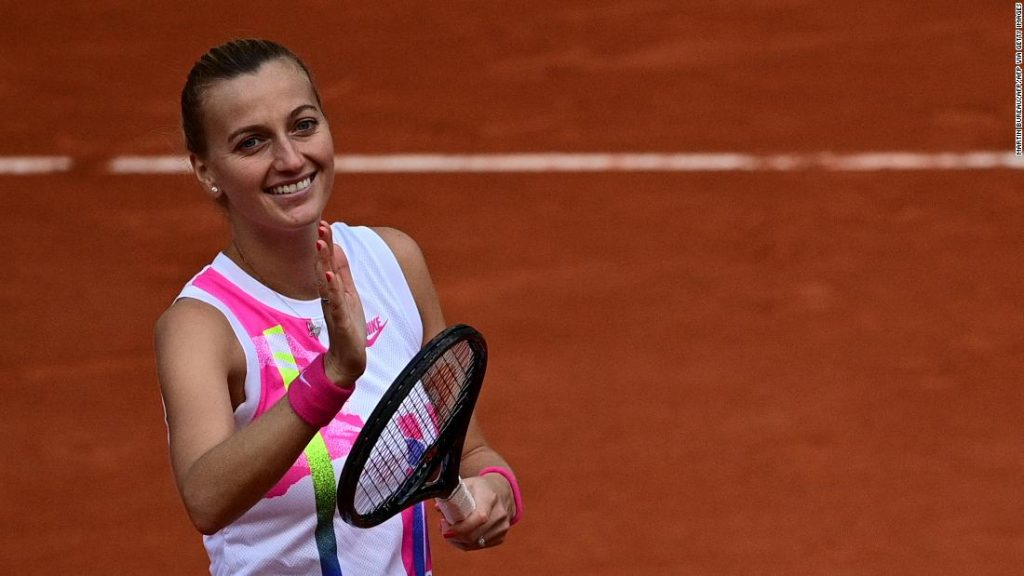 Petra Kvitova reaches 'miracle' semifinal at the French Open