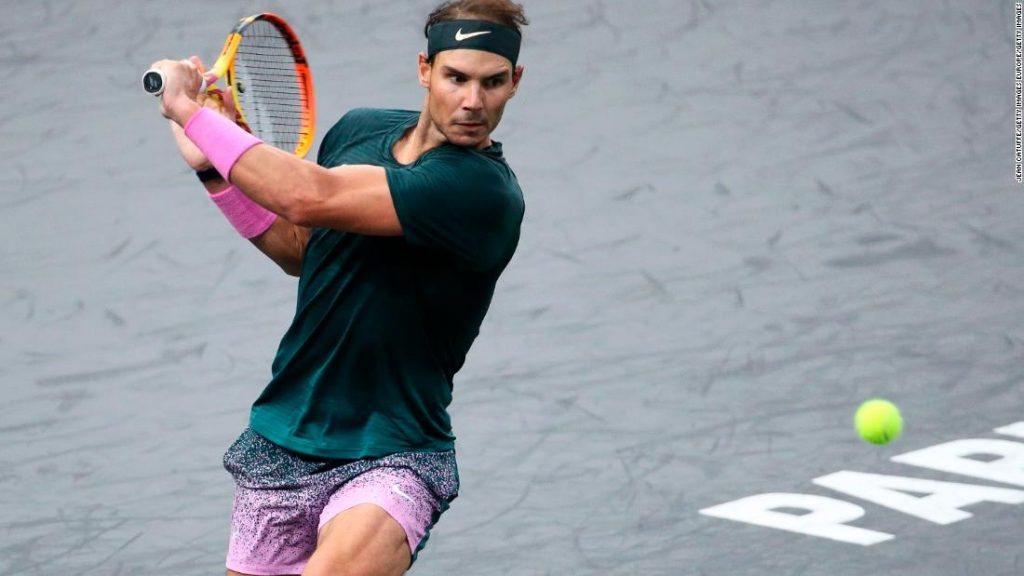 Rafa Nadal overpowered by Alexander Zverev at Paris Masters
